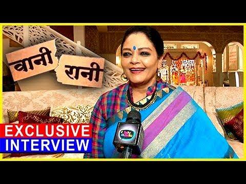 Tanvi Azmi's COME BACK After A Decade | EXCLUSIVE Interview | Vani Rani | TellyMasala
