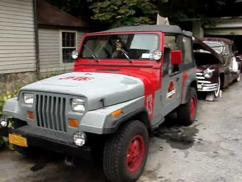 jurassic park jeep 13 youtube. Black Bedroom Furniture Sets. Home Design Ideas