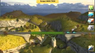 An Engineer* Plays - Bridge Constructor Ep. 1: Best in the West screenshot 4