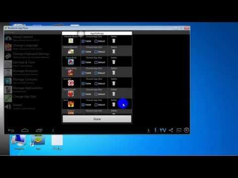 حل مشكلة الشاشة الافقية في برنامج Start BlueStacks مشغل الاندرويد على الحاسوب