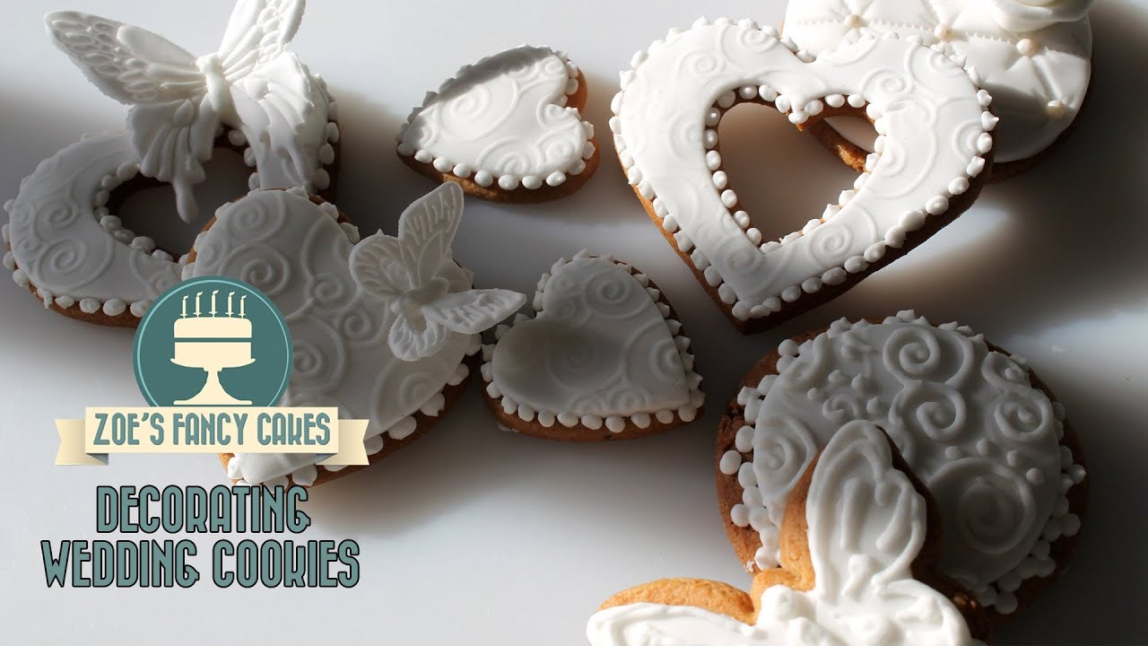 How To Decorate Wedding Cake Sugar Cookies