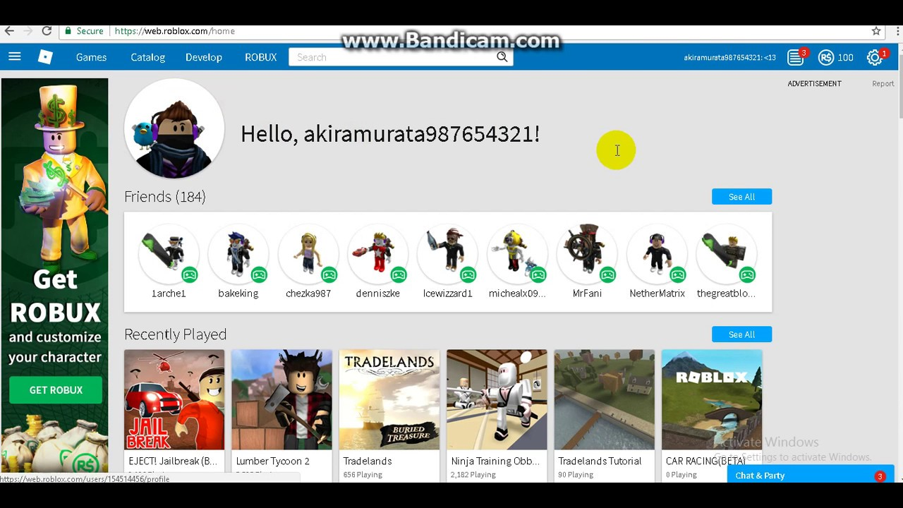 Roblox Names: HOW TO: CHANGE YOUR NAME IN ROBLOX FOR FREE 2017 [ROBLOX
