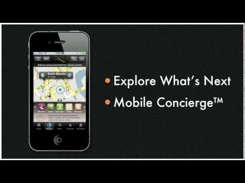 "VisitMobile ""Mobile Concierge"" Demonstration"