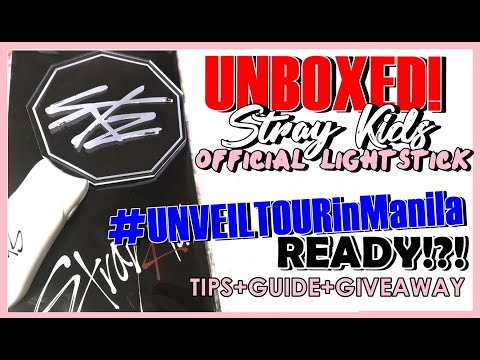 [unboxed+giveaway]-stray-kids-lightstick,-#unveiltourinmanila-ready?!-(tips-and-guide)-|-philippines