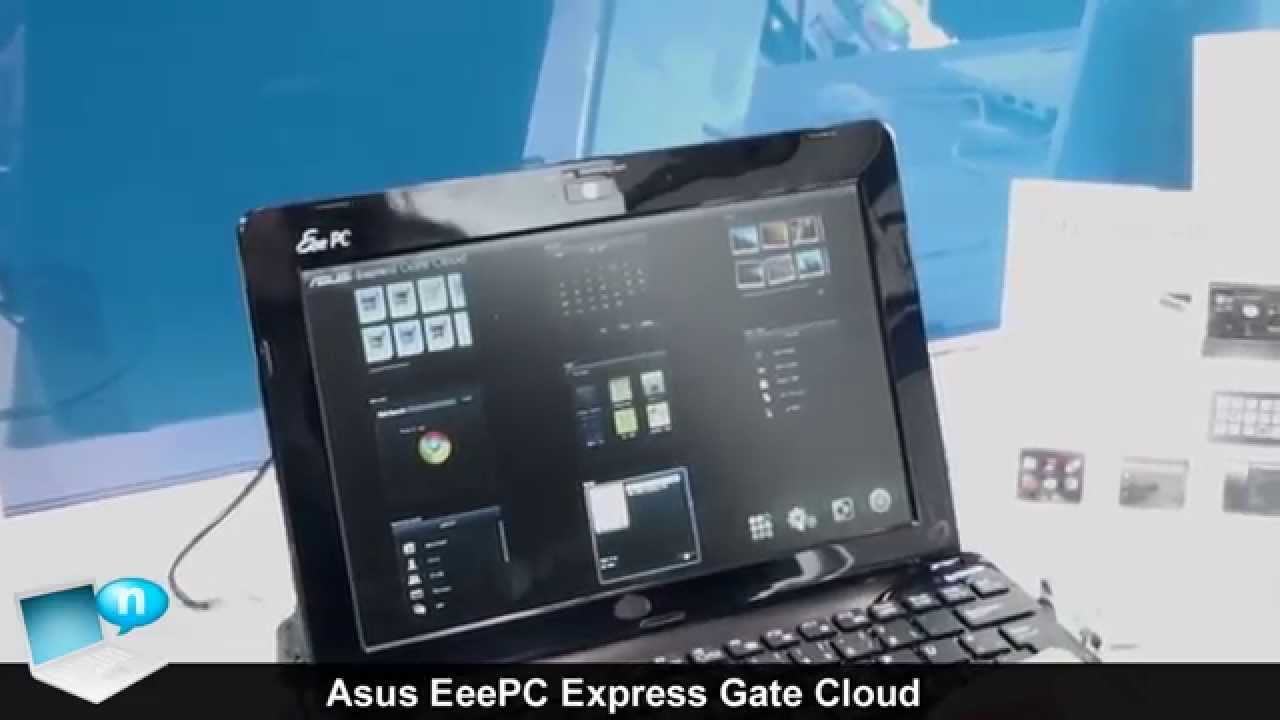 Asus Eee PC 1005HA Netbook Expresss Gate Driver for Windows Download