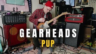 Steve From Pup Reveals His Guitar Rig   Gearheads