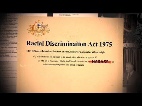 Racial Discrimination Act - Behind The News