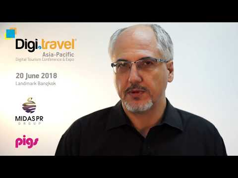 3rd Digi.travel Asia-Pacific Conference & Expo 2018, 20 June - Agenda