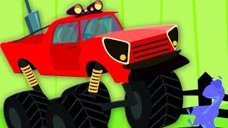 the wheels on the monster truck | nursery rhyme | kids song | children rhymes | kids tv videos