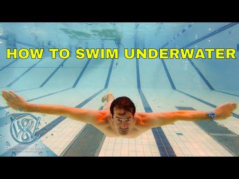 How to swim underwater