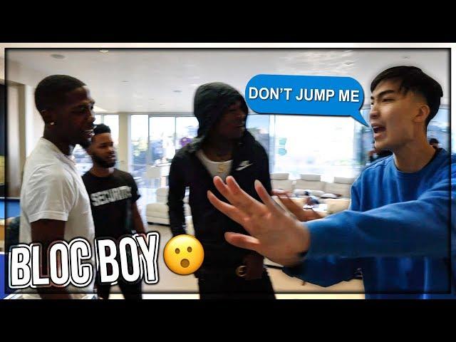 This rapper & his squad confront me