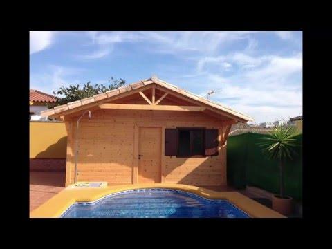 Casas de madera c diz montaje modelo jerez mini 20m2 youtube - Casas de madera en cadiz ...