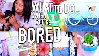 What To Do When You're BORED in Summer + DIY Ideas you NEED to try!