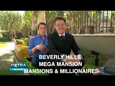"""Extra's"" Michael Corbett  &  Christophe Choo tour Maison 808 a Beverly Hills mega mansion"