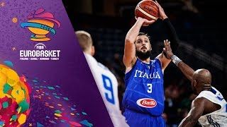Finland v Italy - Highlights - Round of 16 - FIBA EuroBasket 2017