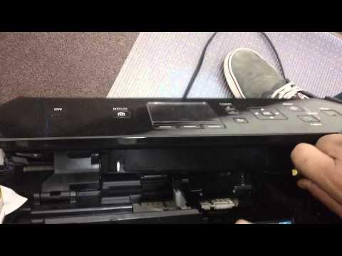 Canon MG6620 Printhead Removal