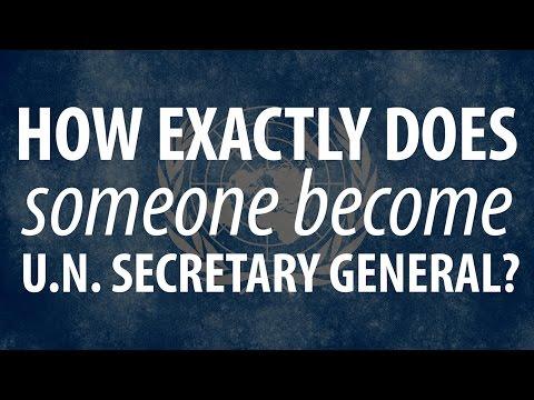 Choosing the next UN secretary-general