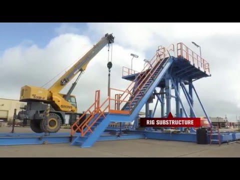 Mobile Workover Rigs   Dragon Products