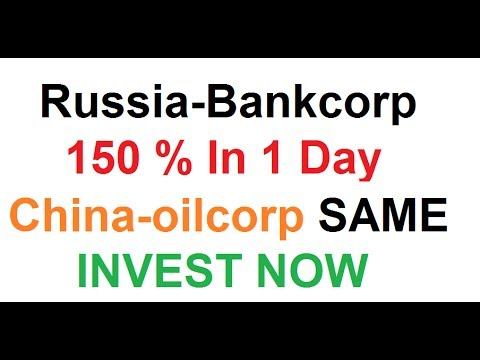 Russia-bankcorp 150% In 1 Day | New Investment Site | Same as China-oilcorp