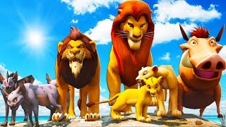 ALL THE LION KING IN GRAND THEFT AUTO