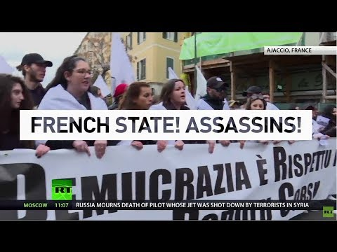 'Corsica is held hostage by France': Island demands greater autonomy