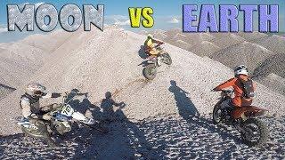 Moon vs Earth
