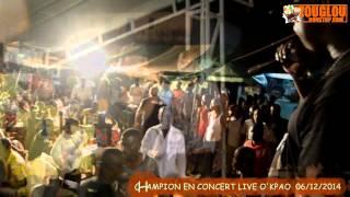 DEZY CHAMPION EN CONCERT LIVE OKPAO DECEMBRE 2014