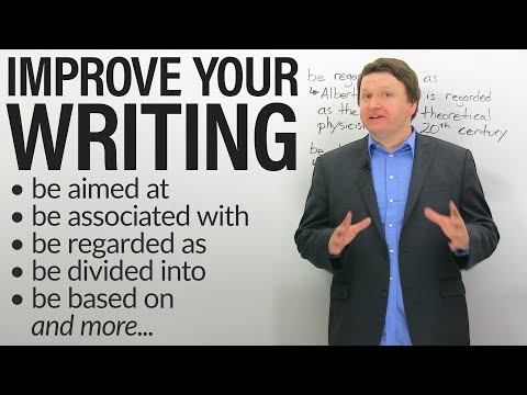 Improve your Academic Writing: PASSIVE PREPOSITIONAL VERBS (also