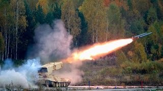 Russian military hardware in action - Exercise expo HQ (Day 2)