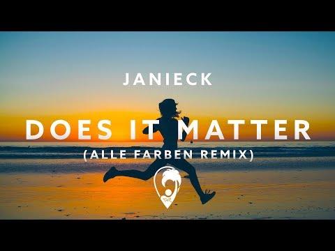 Janieck - Does It Matter (Alle Farben Remix)