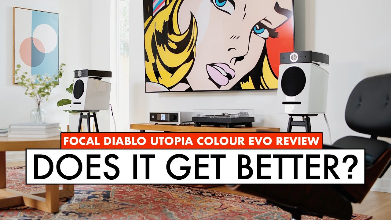 Do EXPENSIVE Speakers SOUND BETTER? Focal Diablo Utopia Speaker Review