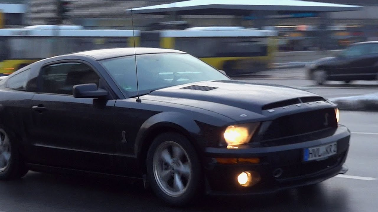 Ford Mustang Shelby GT500 / LouD AcceleratioN SounD ...