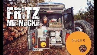 Fritz Meinecke: Mercedes G mit QUQUQ Campingbox