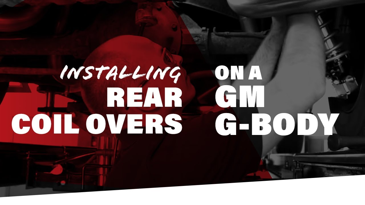 installing a qa1 rear pro coil system on a gm g-body