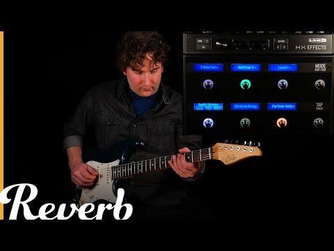 Line 6 HX Effects   Reverb Tone Report