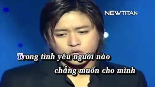 Anh muốn nói - Tuấn Hưng Karaoke HD