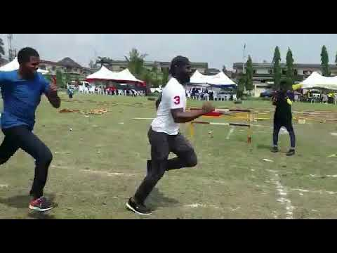 Daddy runs at Timis first inter house sports