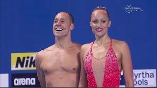USA wins first Mixed Synchro Swim Champs - Universal Sports