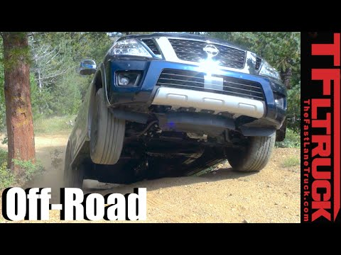 2017 Nissan Armada 4x4 Gold Mine Hill Off-Road Review