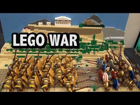 LEGO Peloponnesian War   BrickCon 2016
