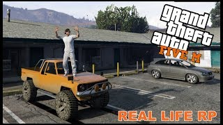 GTA FIVEM REAL LIFE RP - NEW TRUCK AND SIDE JOB - EP. 2