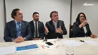 Bolsonaro vai ao STF contra toque de recolher de governadores