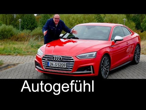 Audi S5 Coupé FULL REVIEW test driven & COMPARISON A5 old vs new 2017 neu - Autogefühl