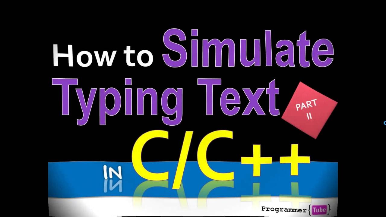 How to simulate user typing text from a file in C/C++