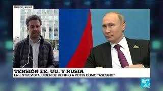 Informe desde Moscú: así reaccionó Rusia a las declaraciones de Joe Biden
