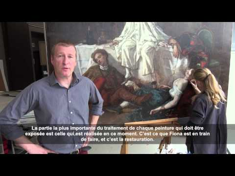 Comprendre nos chefs-d'œuvre : Thomas Couture dans l'atelier