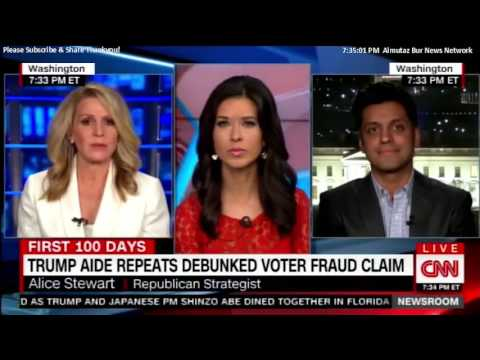 Alice Stewart Discussing the Trump Administration on CNN