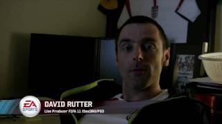 FIFA 11: Personality + described by David Rutter and Mike Day