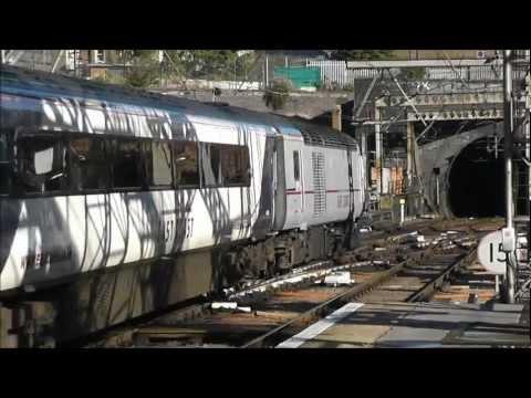 Trains at London King's Cross   06/10/12