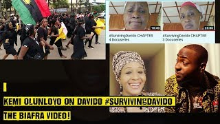 Kemi Olunloyo On Davido SurvivingDavido The Biafra Video